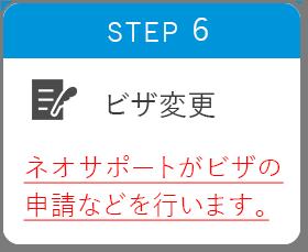 STEP6 ビザ変更
