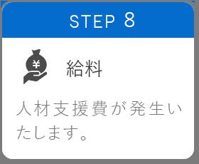 STEP8 給料