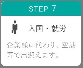 STEP7 入国・就労